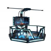Iron Material 9D Vr Games / Htc Virtual Reality Games For Shopping Mall