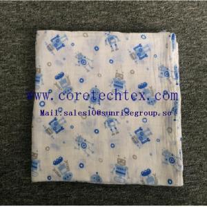 China Super Soft Muslin Baby Muslin Blanket on sale