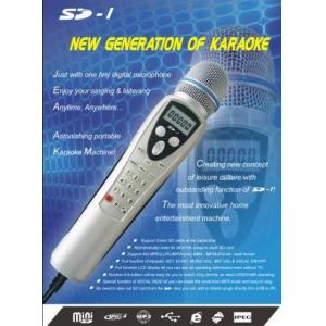 China Embeded in Songs Microphone on sale