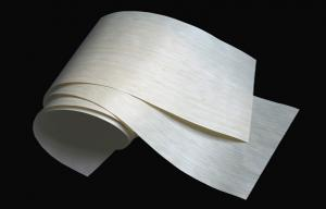 China 1/16 Vertical Bamboo Wood Sheets , Carbonize Bamboo Skateboard Veneer on sale