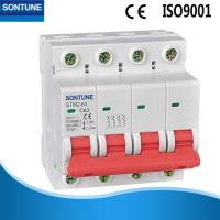 China Safety Miniature MCB Circuit Breaker 4p 6A - 63A MCB With High Durability on sale