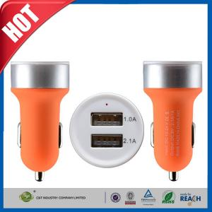 China Two USB Ports 3.1A Portable USB Car Charger for iPhone 6 6 plus / iPad air on sale