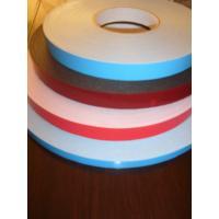 Custom 1mm PVC, PU, EVA, PE self adhesive foam tape with Green / blue / red film Liner