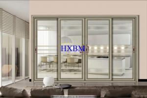 China Sound Insulation Interior Sliding Doors , Wide View Sliding Patio Doors on sale