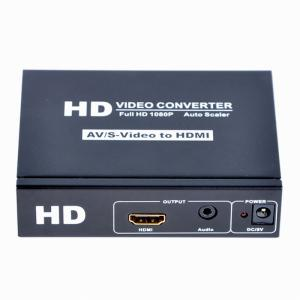 China CVBS+S-Video+R/L Audio to  Converter Supports OSD Menu Operation on sale