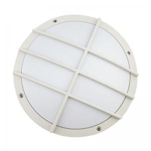 China IP65 Die Cast Aluminum Outdoor LED Wall Light With Grill Corrosion Proof 3 Years Warranty on sale