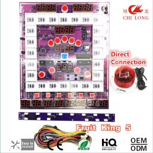 China Coin Operated Slot Machine Pcb Board Super In - Built Anti Jamma Fucntion on sale