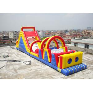 China Large Scale Extreme Inflatable Obstacle Challenges Playground on sale