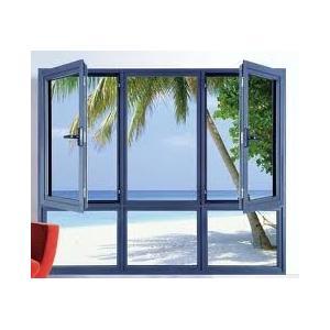 China GAL KPM49 Aluminium Casement Doors for Commercial Hous on sale