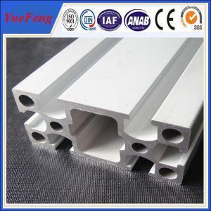 Quality 6000 series Custom Industrial Anodized Aluminum Profile square T slot aluminum for sale