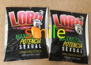 China LOBO Male Libido Enhancer Medicine Natural Herbal Sex Pills Increasing Sexual Pleasure on sale