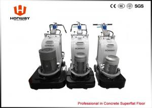China Square Grinding Plates Concrete Floor Grinding And Polishing Equipment 30L Water Tank on sale