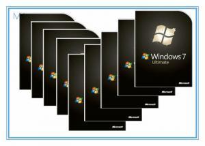 China DVD 32 Bit / 64 Bit Home Microsoft Windows 7 Ultimate Product Key Softwares OEM on sale