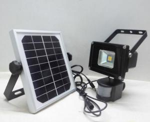 China Waterproof Solar Powered Flood Lights Motion Sensor COB Chip on sale