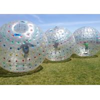 Wear Resisting Inflatable Human Ball , Giant Inflatable Hamster Ball Diam 2.8m