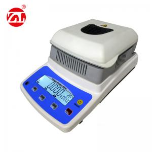 China Halogen Light Heating Digital Moisture Meter , Gauge Rice LCD Density Testing Equipment on sale