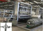 China High Speed Wire Mesh Making Machine , Grassland Field Chain Link Weaving Machine wholesale