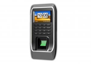 China 2.4 Tft Touch Screen Biometric Access Control Devices With Door Open Alarm on sale