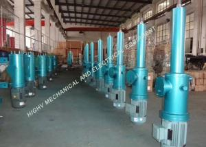China Agricultural Electric Over Hydraulic Linear Actuator 25-110mm/S Pushing Speed on sale