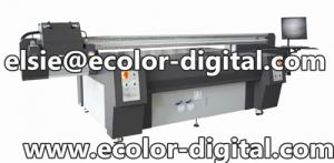 China UV Printing Machine, high definition, glass printer with Konica512 heads on sale