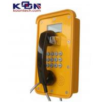 Dual Tone Multi Frequency DTMF Waterproof Telephone VOIP Line Ac Powered