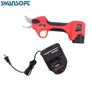 China WS-808 Electric Pruning Shears with 2 Batteries Battery Power Pruners Cordless Electric Scissors on sale