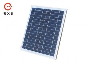 China Polycrystalline Custom Solar Panels 50W / 36 Cells / 12V IP65 Junction Box on sale