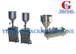 China Semi Automatic Packing Machine 1 Liter Liquid Water Filling Equipment DXD-500Y on sale