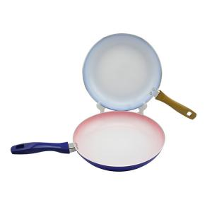 China Aluminum ceramic coating nonstick frying pan,good utensils. on sale