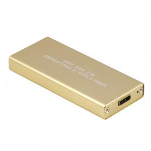 China USB3.1 Type C USB-C To M.2 NGFF 42x22mm SSD HDD Enclosure Case Adapter on sale