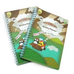 China Customized cheap Spiral Notebook Custom Notepad Printing with YO Spiral Binding on sale