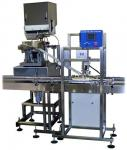 Multi Head Automatic Capping Machine With Welded Steel Frame 40 Bottles / Min