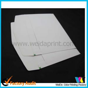 China Western coat paper / Kraft Paper Custom Printed Envelopes support UV Coating on sale