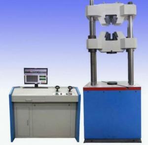 China WEW-1000C Worm gear system hydraulic universal testing machine on sale