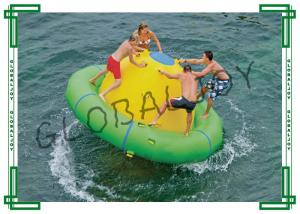 China Mini Inflatable Saturn Rocker Revolving Saturn Water Toy for Lakes on sale