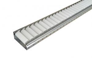 China Galvanized Steel Pallet Roller Bearing Track / Sliding Garage Door Track on sale