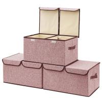 China 35L 45x20x30cm 10KG 120gsm Foldable Fabric Box on sale