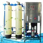 Ro Water Purification System , Frp / Ss Reverse Osmosis Water Treatment Plant