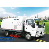 Automatic 5m3 Road Sweeper Truck Special Purpose Vehicles For Sweep Road / Pavement