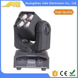 China New 4pcs 10w  4in1 Led Mini Moving Head Light Wash Zoom Light Dj Lights on sale