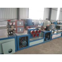 China PP / PET Strapping Roll Manufacturing Machine Single Screw Design High Efficiency on sale