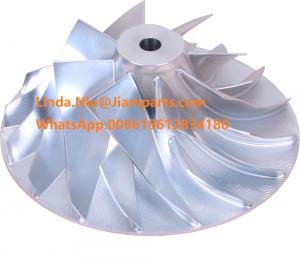 China Cummins Various HX83 Turbo 5455591 Impeller HX83 2835438 Billet Compressor Wheel with good prices on sale