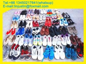 China China Mixed Men Ladies Children Used Shoes Second Hand Shoes Wholesales on sale