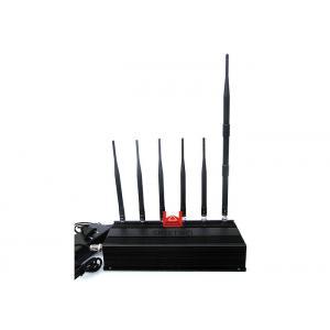 6 jammer do sinal do telefone celular da antena, jammer do Walkietalkie do VHF da frequência ultraelevada do Desktop