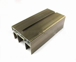 China Multifunctional Aluminum Sliding Door Profile , High Precise T Slot Aluminum Profile on sale
