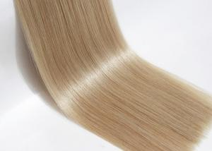 China No Tangle European Human Hair Extensions Double Drawn Hair Wefts Extensions on sale