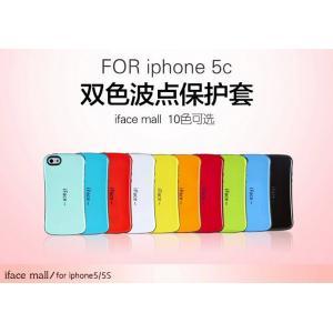 Caixa disponível do telefone da alameda de Iface de 12 cores para o iPhone 5c, caixa da alameda do iface para o iphone 5c i5c