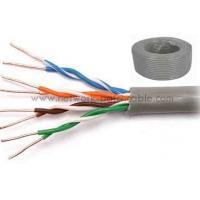 China Customized Category 5e UTP Cable Cat5e UTP Cable PVC 100BASE-TX on sale