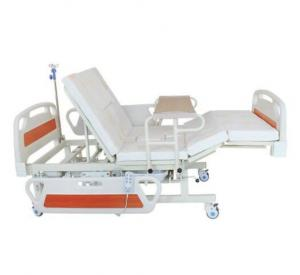 China Medical Equipments Electric Nursing Bed With Jiecang Motor Punching Bed Board on sale
