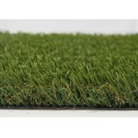 Unique Fiber Shape Indoor Outdoor Carpet Grass Turf Green Artificial For City Decoration